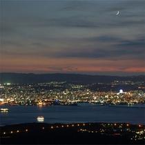 鹿児島市街地の夜景