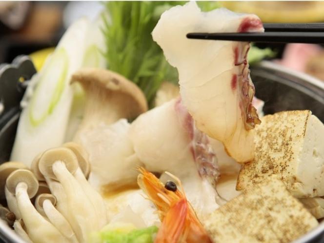 桜鯛入り煮鍋
