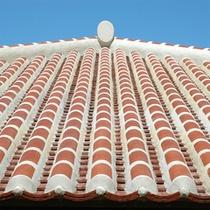 *赤瓦の屋根