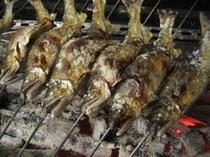 鮎の塩焼き 一例