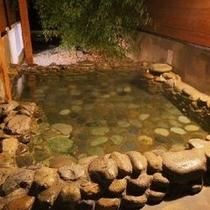 満天の星空を眺めながら「美人の湯」露天風呂