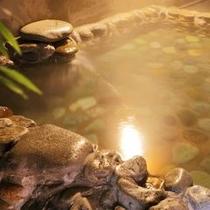 ph9.7アルカリ性天然温泉「美人の湯」露天風呂