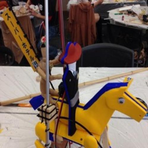 *2013年ロボット騎馬打毬大会第3位*