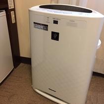 加湿空気清浄機(全客室に設置)