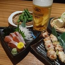 ★おつまみセット★軽く飲みたい方にぴったりのプラン!