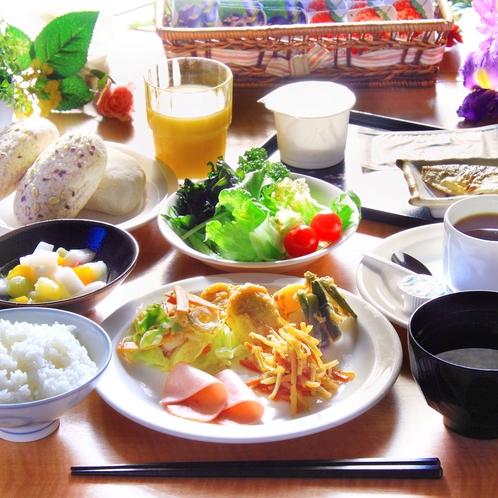 ★朝食バイキング★お米は宮城県産ひとめぼれを使用!