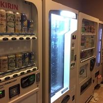 1階自動販売機コーナー(アルコール、ソフトドリンク、おつまみ)