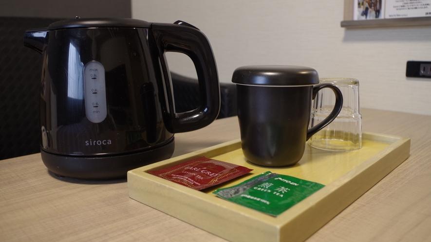 ポット・お茶カップ