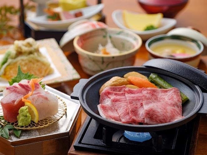佐賀牛付季節のおまかせ和会席 ※季節により内容が異なります。