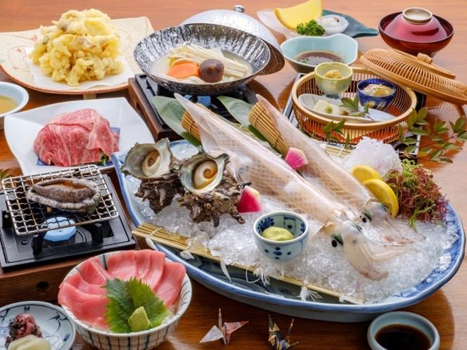 日本料理:特選会席(秋~冬)