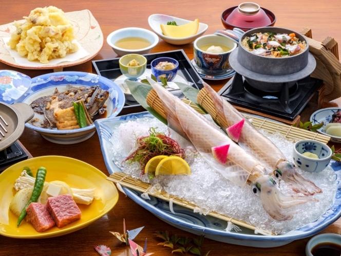 【名物】グルメ満喫会席(日本料理)