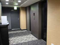 【リニューアル完了!】客室エレベーターホール