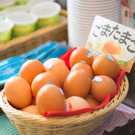 ごまたまご(ビタミンEが一般卵の10倍)