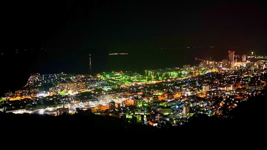 ■峰山公園展望台 夜景