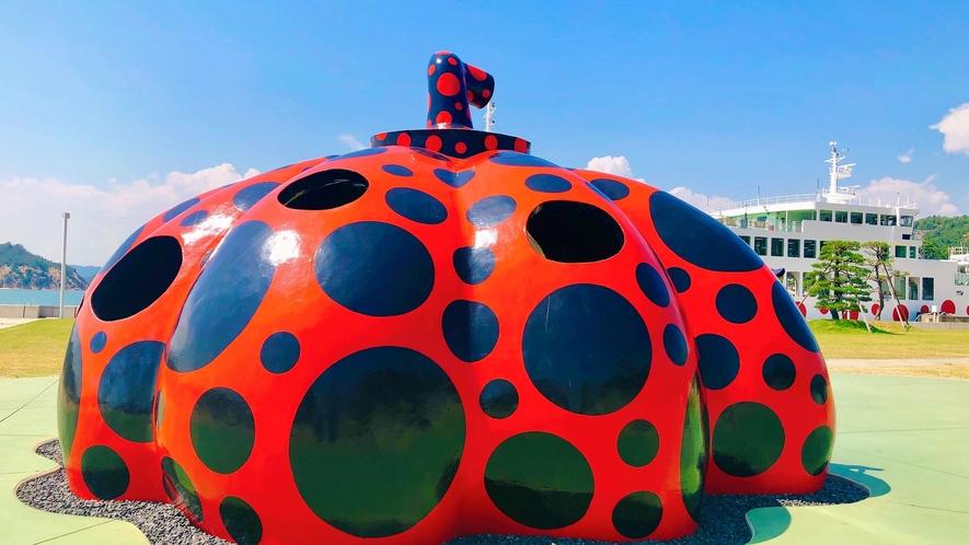 ■直島 南瓜(赤かぼちゃ)