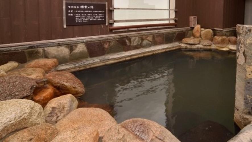 男子露天風呂(42℃~43℃)