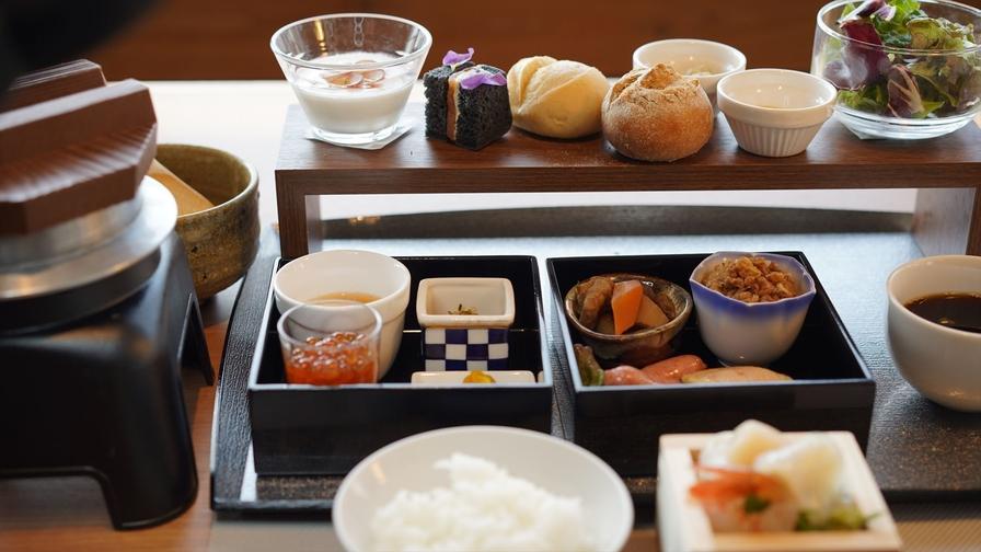 60日前までの早期予約【朝食付】函館食材の和洋折衷ブレックファースト