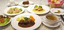 夕食(コース料理)(750)