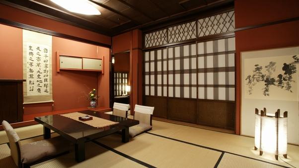 露天風呂付き客室『扇』『漆』