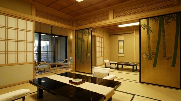 露天風呂付き客室『御簾』『松竹梅』