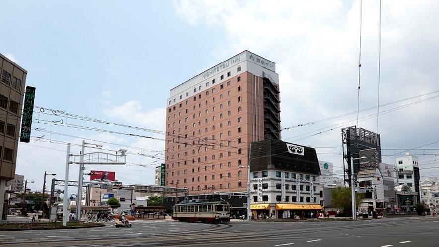 【駅からのアクセス】当ホテル