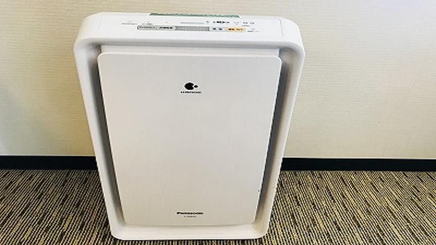 【客室内備品】加湿機能付き空気清浄機