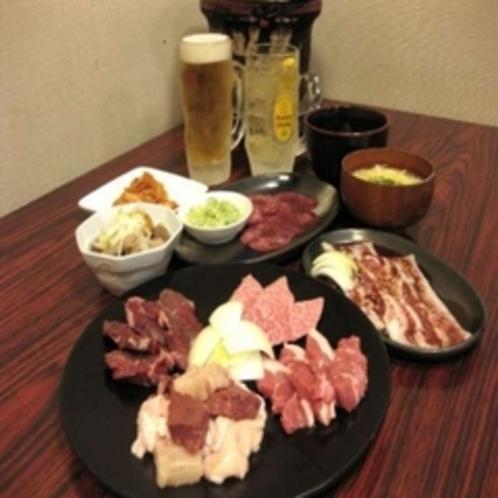 """""""味覚園総本店""""お食事コース1人前"""