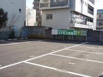 第四駐車場(ウェーブ横)14台駐車可能