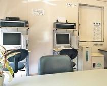 2F OAコーナーに2台のPCを設置、閲覧用としてご利用くださいませ