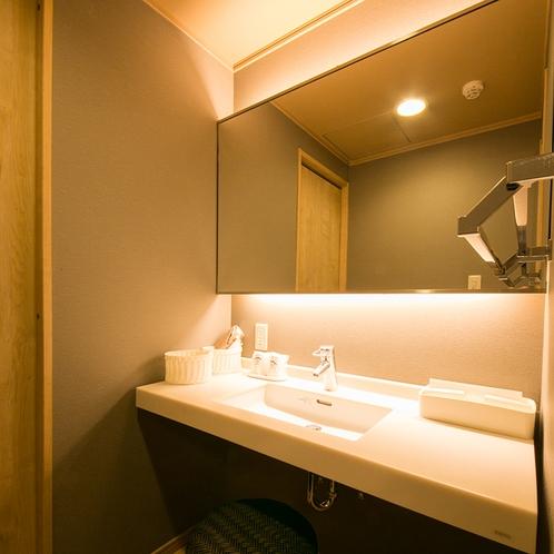 禁煙和室10畳-モダン和室-洗面