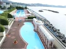 海浜公園プール【7月中旬~8月下旬】