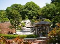 万葉公園《徒歩約10分》県下最大の独歩の湯(足湯)でのんびり・・・