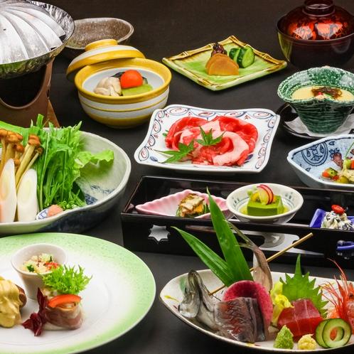 2021年7月・8月のお献立の一例♪旬の食材を使い、色鮮やかな内容になっております(^^♪