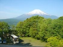 展望室から見た富士山