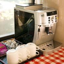ロビーでは無料でコーヒーをご提供させていただいております。