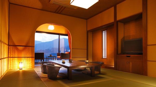 【紅枝垂】和室 10帖 広縁