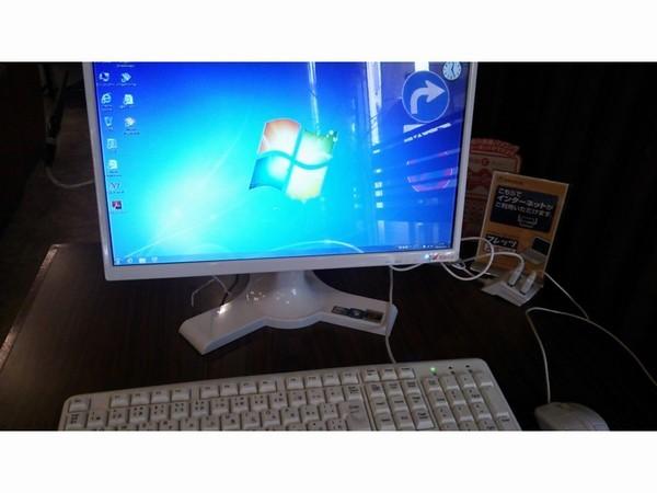 ロービーのパソコン