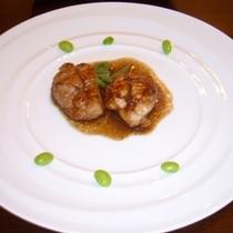 【ディナー】地鶏バルサミコ
