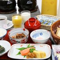 ■朝の和定食&ミニバイキング