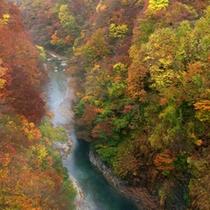 ■秋の小安峡