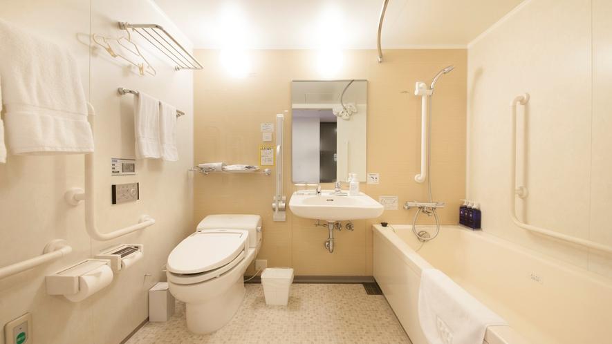 バスルーム:ユニバーサルツイン(スーペリアツインの一室)