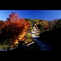 秋の飛騨の里