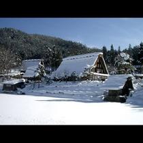 冬の飛騨の里