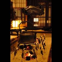 飛騨の間 囲炉裏(イメージ)