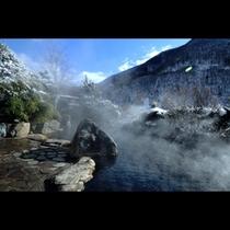 混浴露天『秀綱の湯』日中の景色