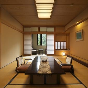 【東館】槍ヶ岳ビュー和室9畳〜10畳+広縁◎全室Wi-Fi