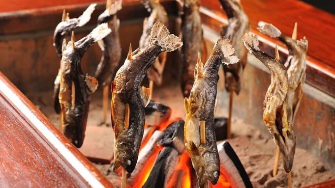 【夏のグルメ旅】肉汁あふれる『A5飛騨牛ステーキ』と旬の『鮎の塩焼き』★大人の方は生ビールサービス!