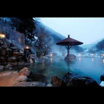 山峡槍の湯大野天風呂