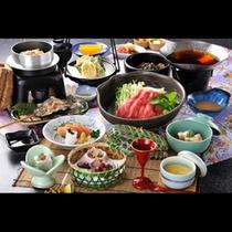 季節の会席料理イメージ