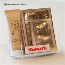 洗顔・化粧水・美容液セット(レディースルームのみ)